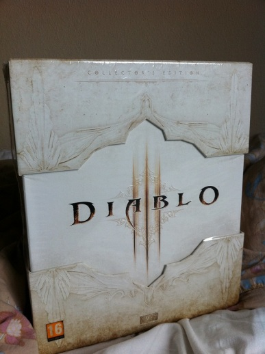 Diablo III Collectors Edition Casing