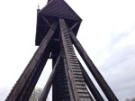 Church bell tower
