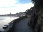 Walking through Lloret de Mar